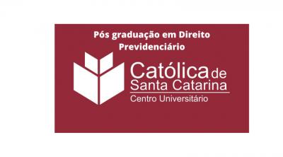 Pós graduação Católica de Santa Catarina