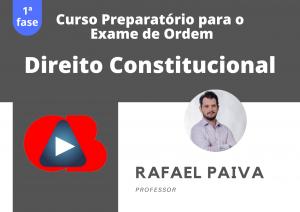 Preparatório OAB: Curso Modular de Direito Constitucional