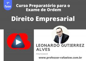 Preparatório OAB: Curso Modular de Direito Empresarial